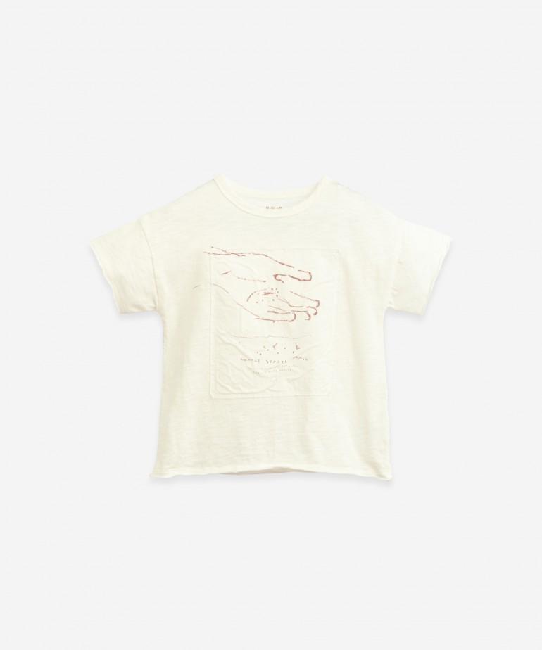 Anti-UV organic cotton T-shirt