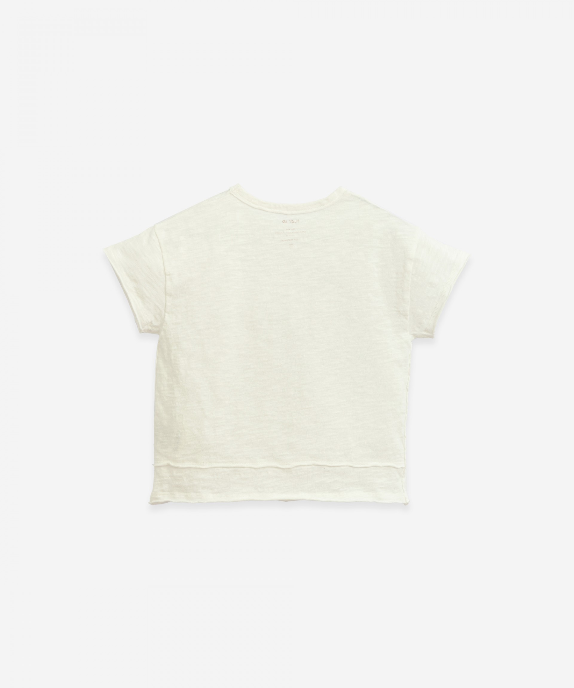 T-shirt in organic cotton | Botany