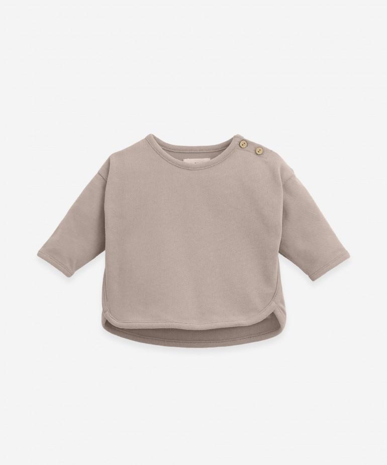 Camicia a spalline in cotone biologico