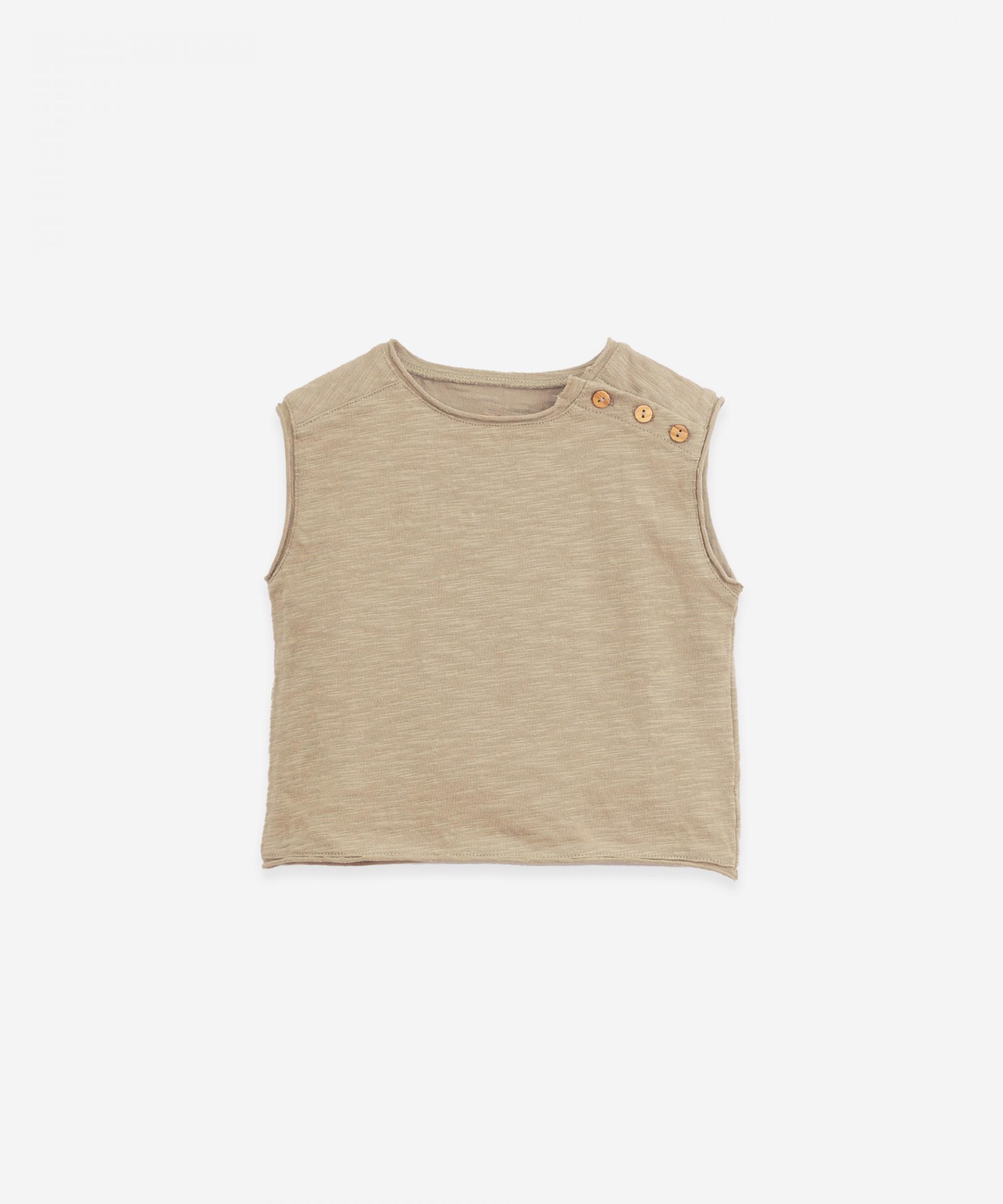 T-shirt sem mangas | Botany