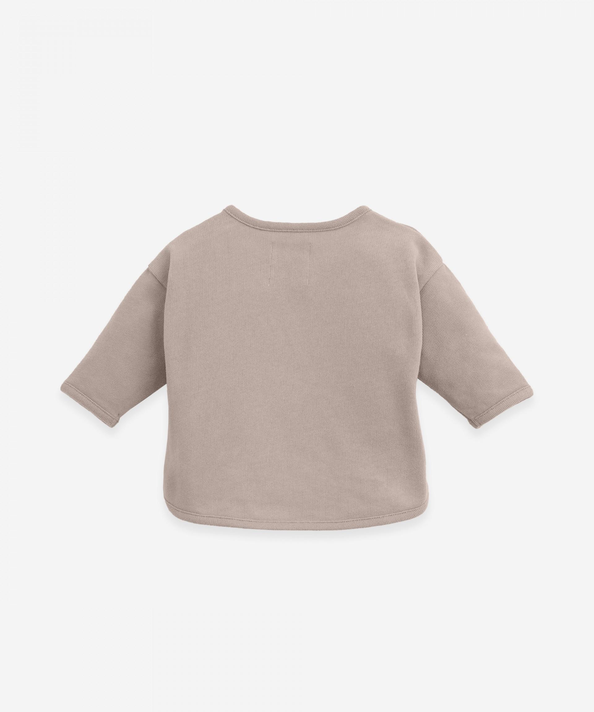 Sweater with longer back | Botany