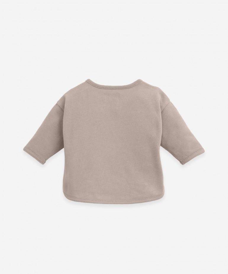 Jersey de punto de algodón orgánico