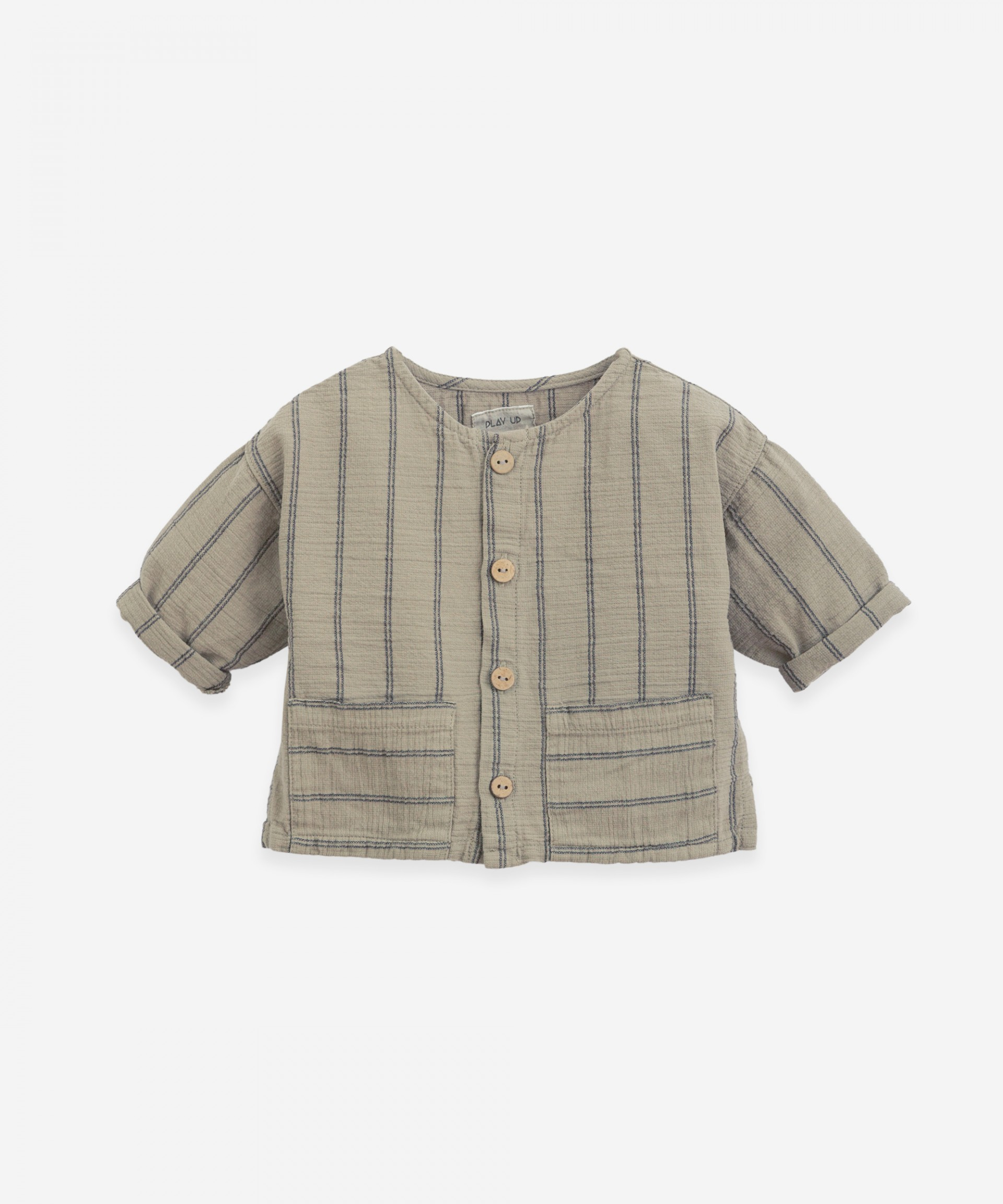Woven shirt with long sleeves | Botany