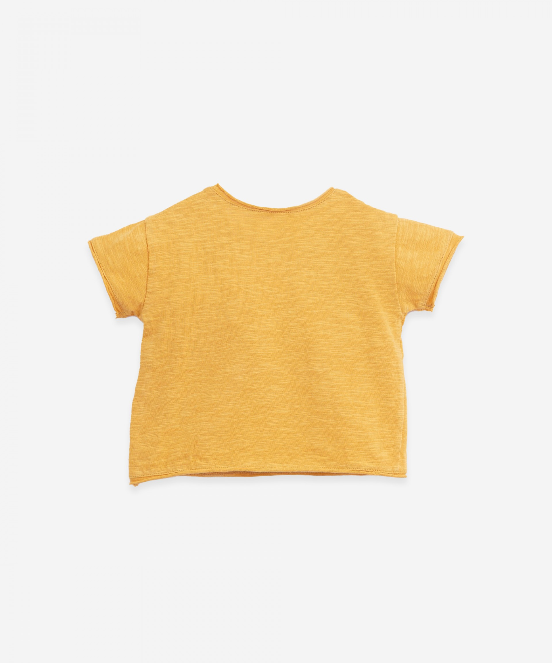 T-shirt in organic cotton with a pocket| Woodwork