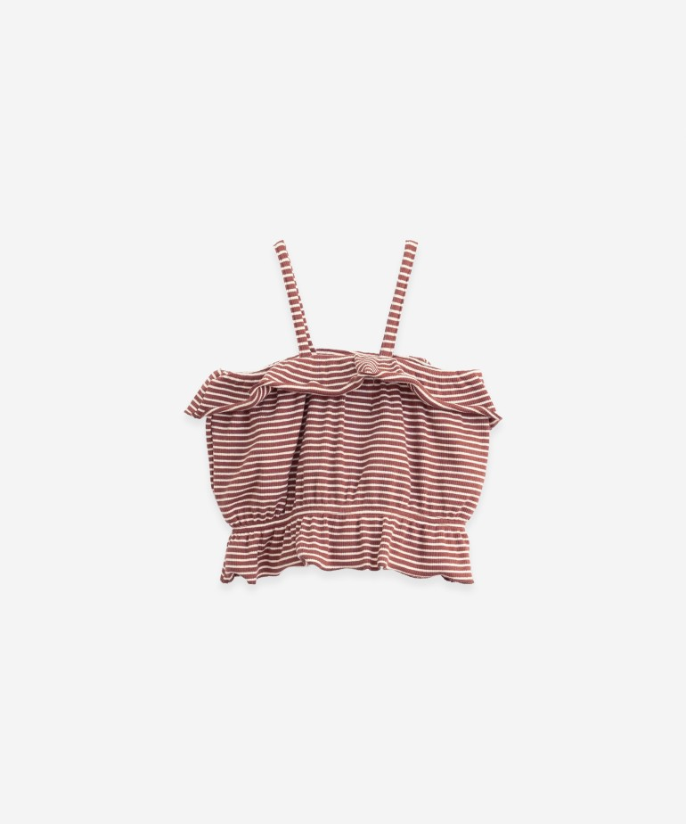 Top in organic cotton