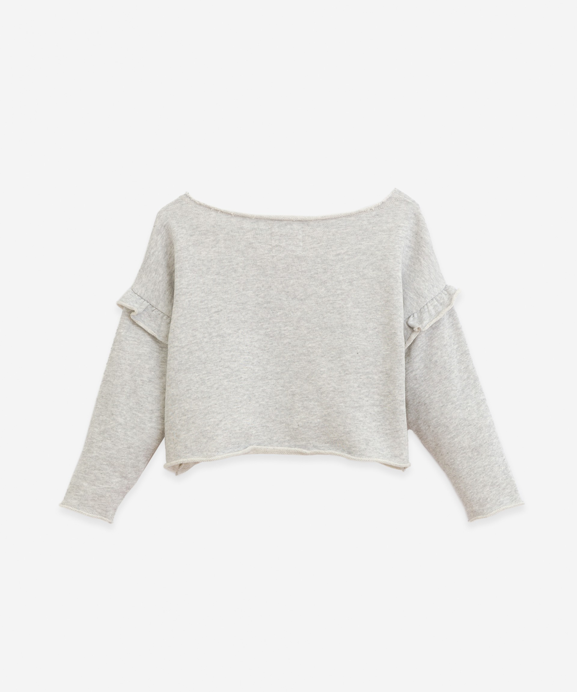 Sweater with frill | Botany