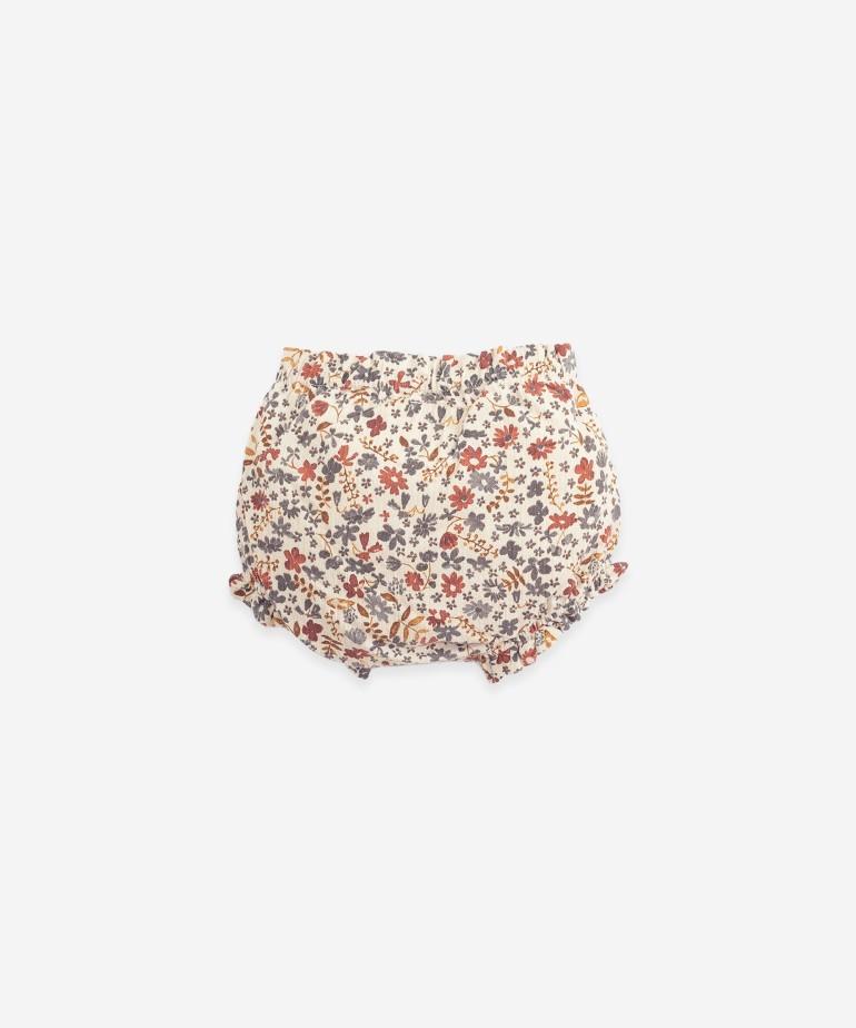 Woven cotton underpants