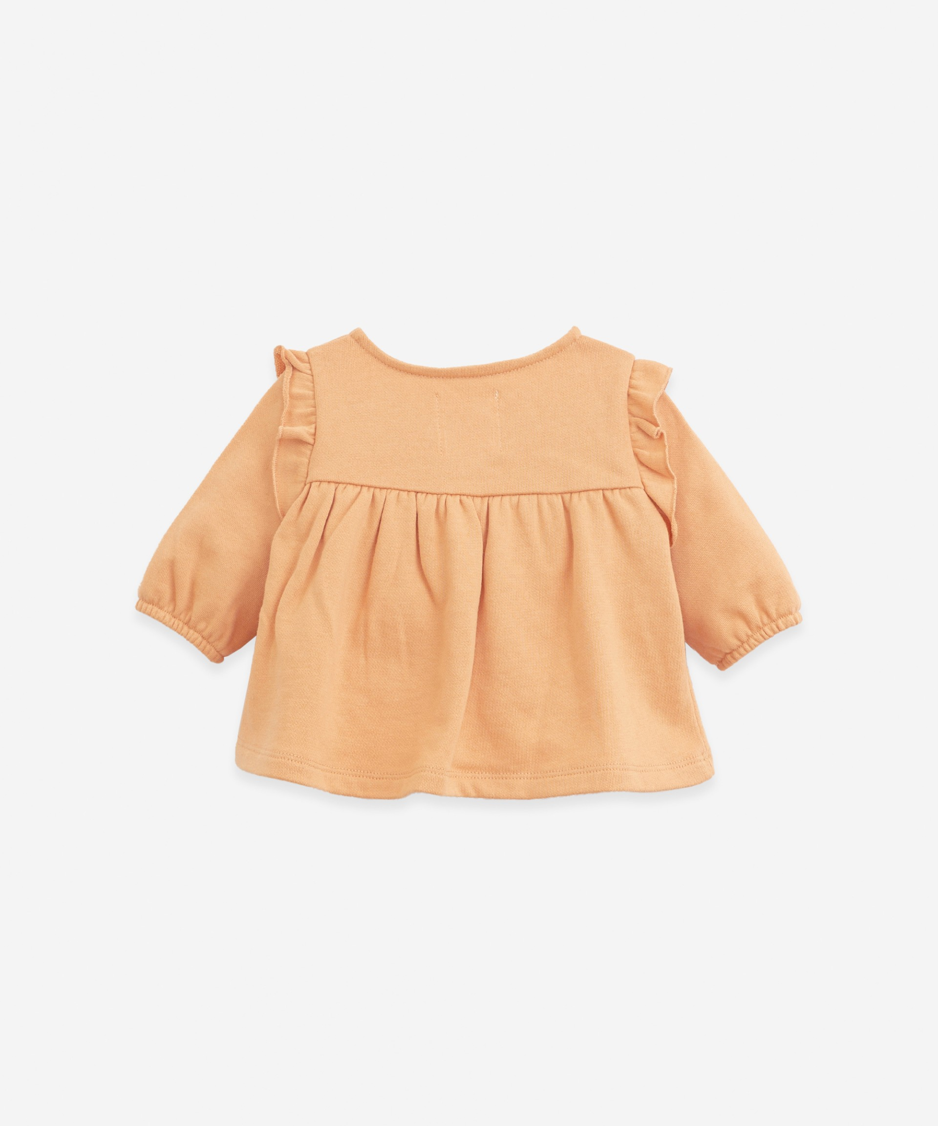Jersey with elastic cuffs | Botany