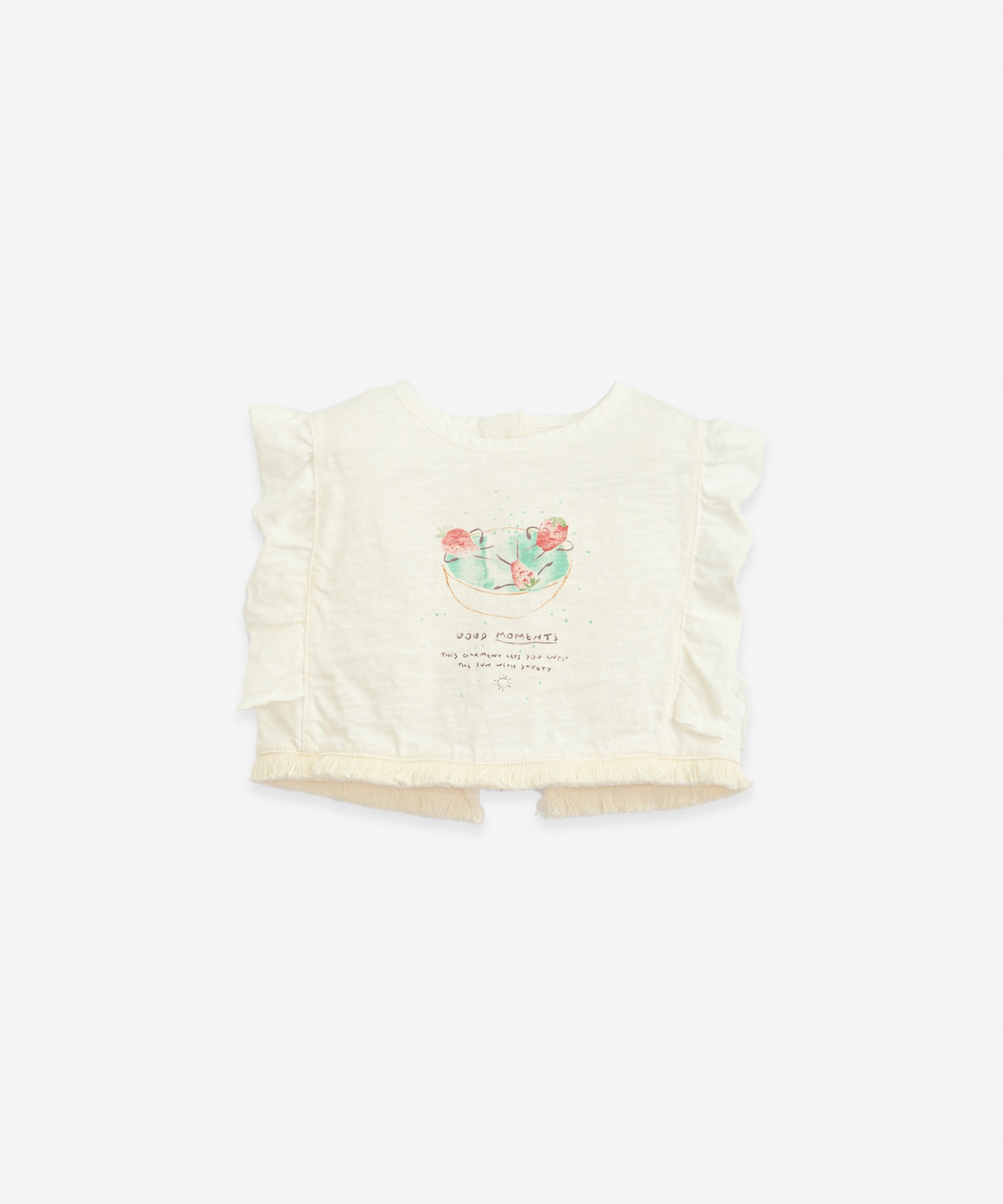 Anti-UV T-shirt in organic cotton | Botany