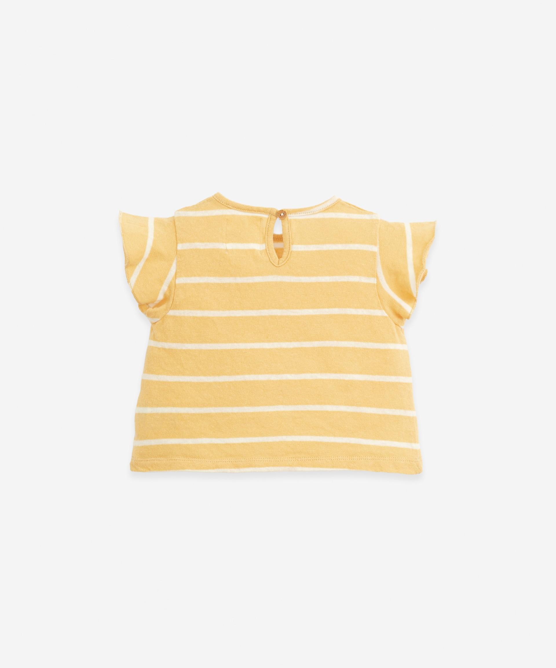 Striped T-shirt | Botany