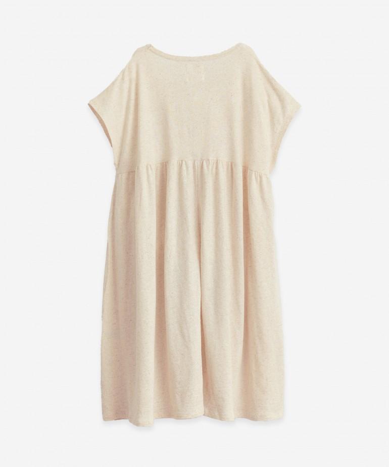 Vestido de algodón orgánico y cáñamo