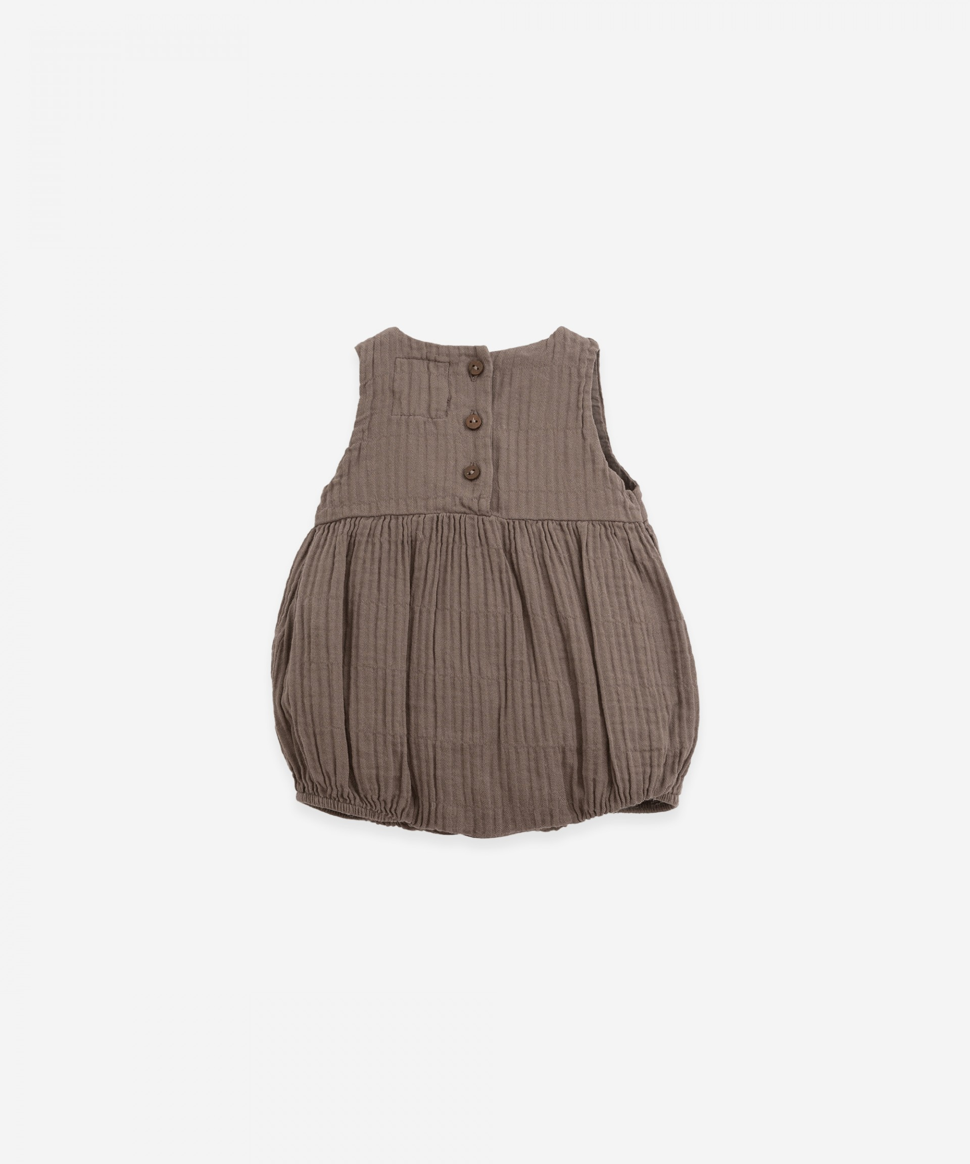 Short cloth jumpsuit | Botany
