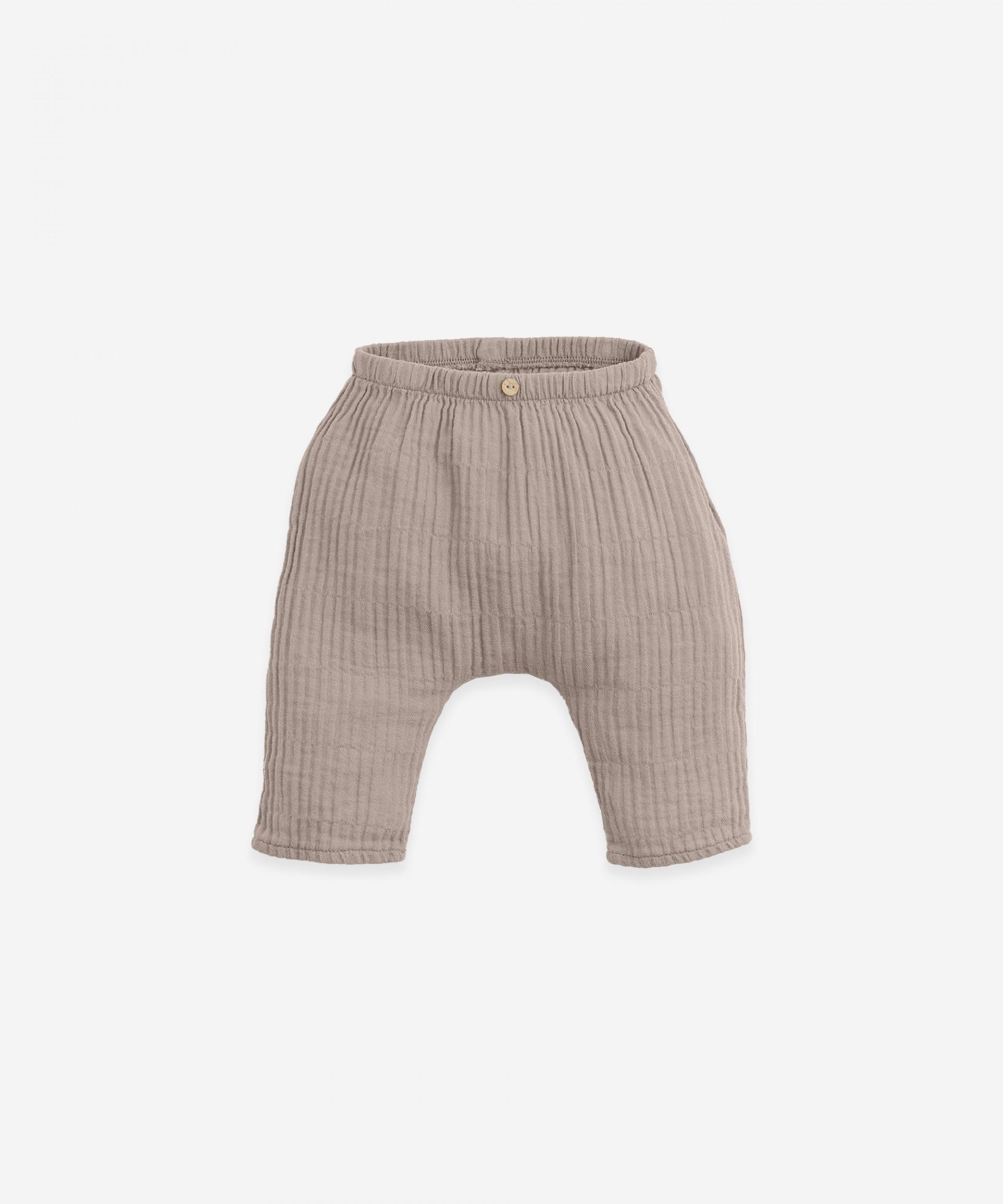 Pantalón de algodón | Botany