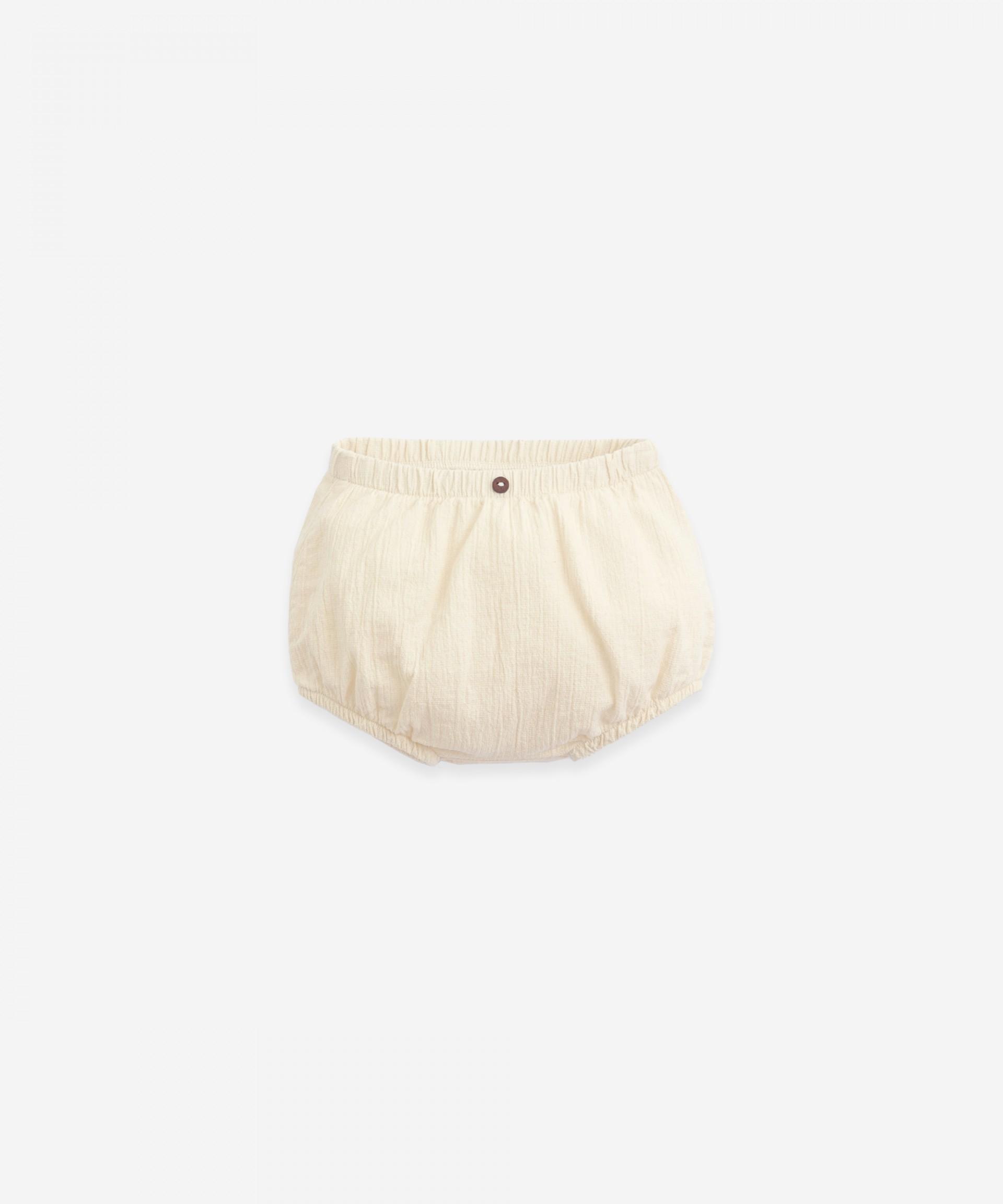 Pantalón corto de algodón | Botany