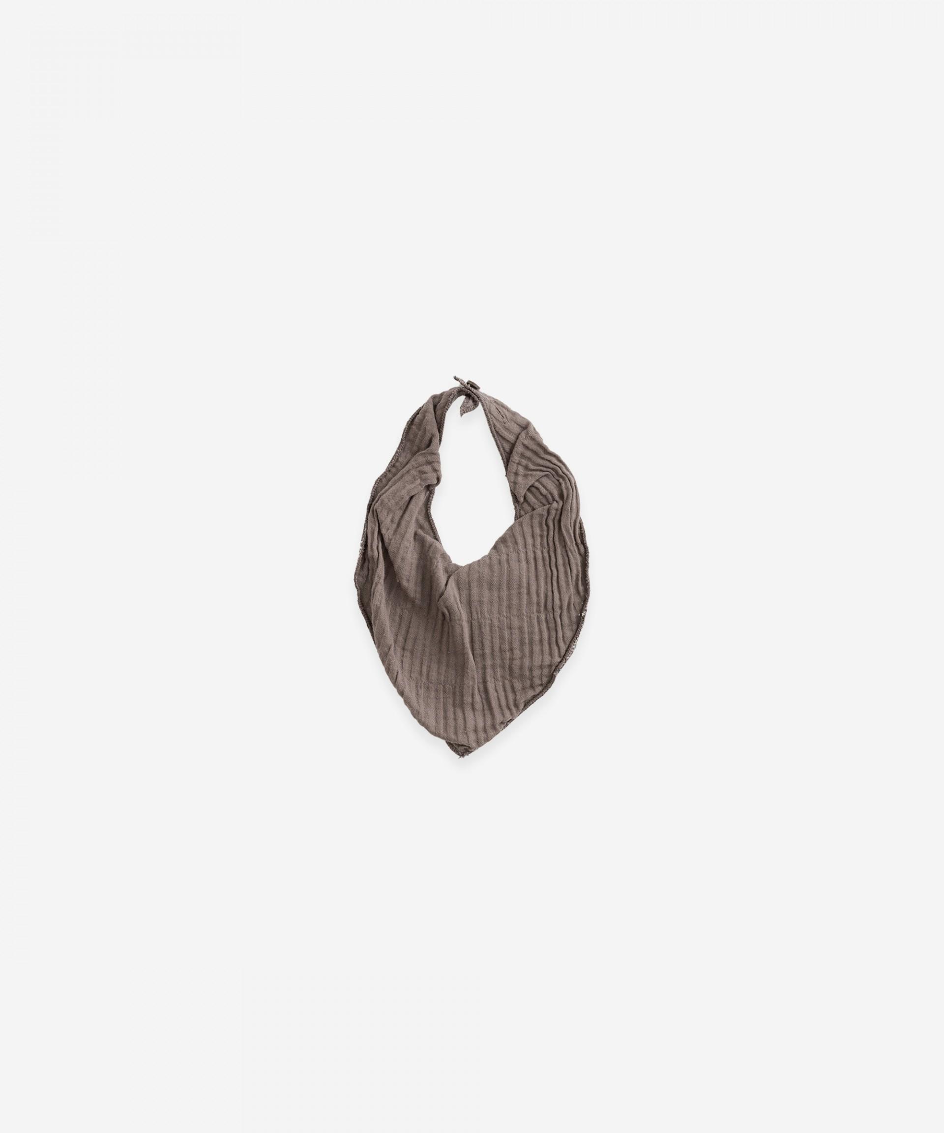 Babete de tecido com forro | Botany