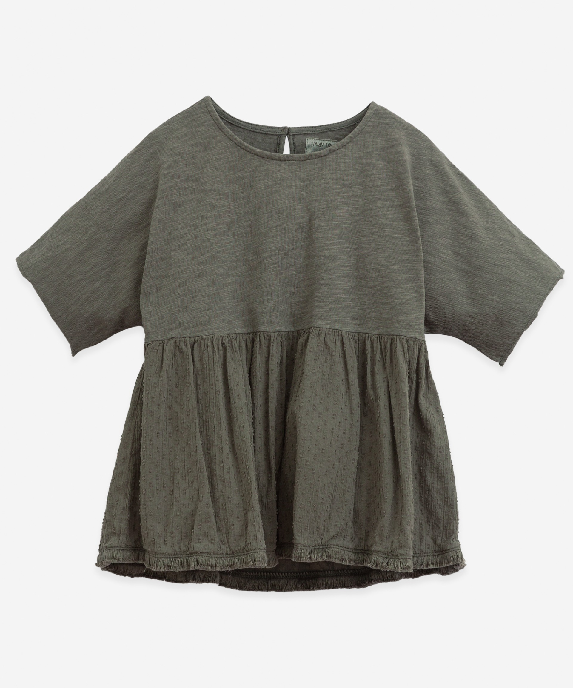 Tunic with coconut buttons | Botany