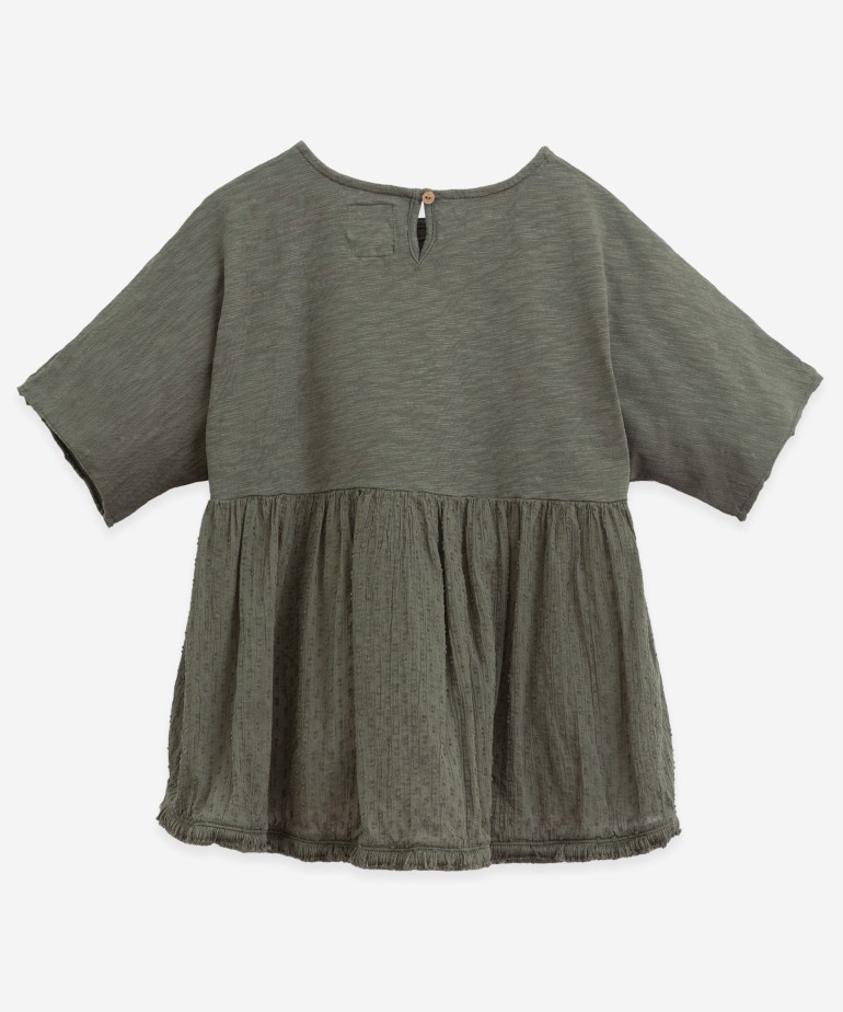 Tunic with fringes