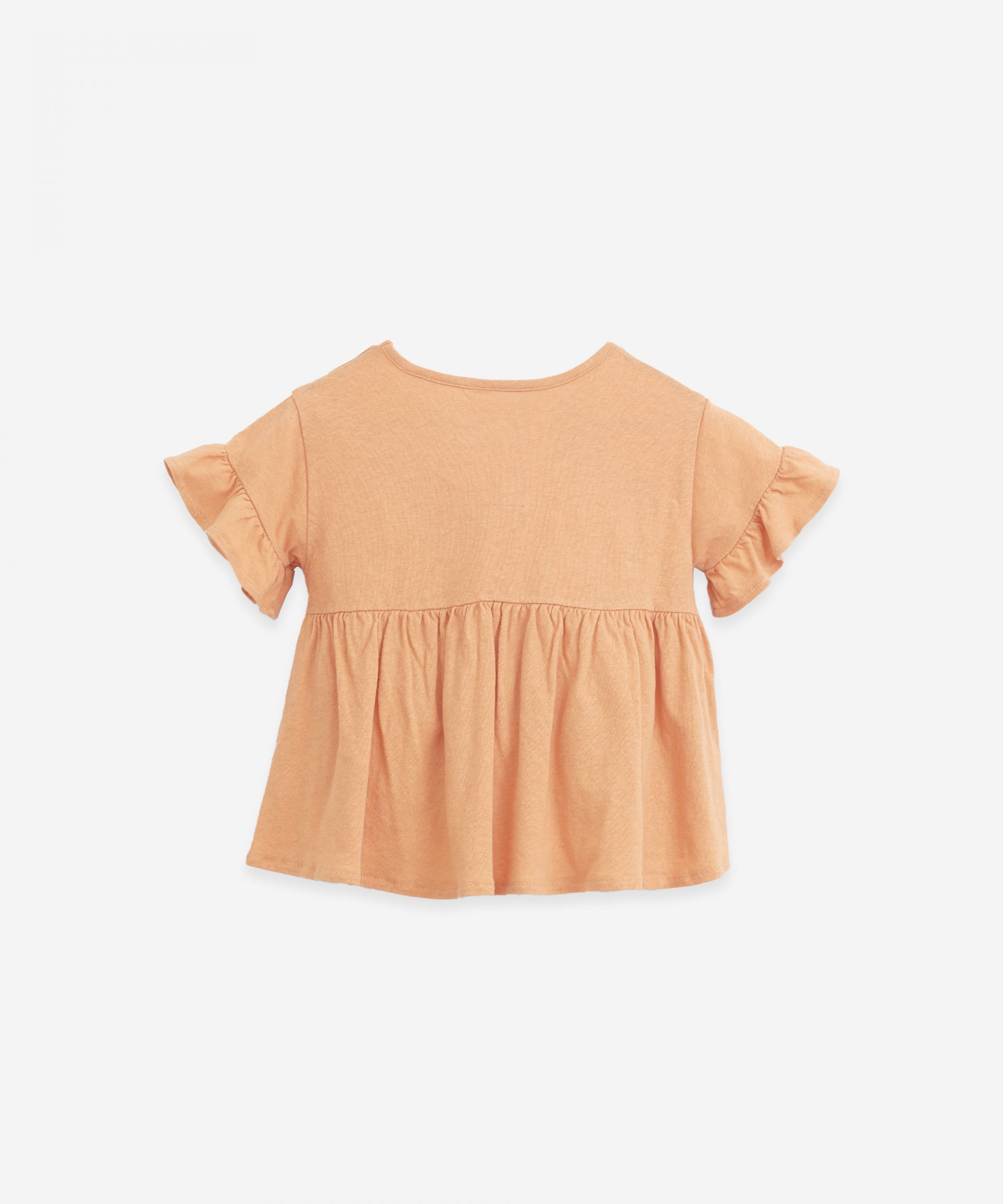 Tunic with frill on the sleeves | Botany