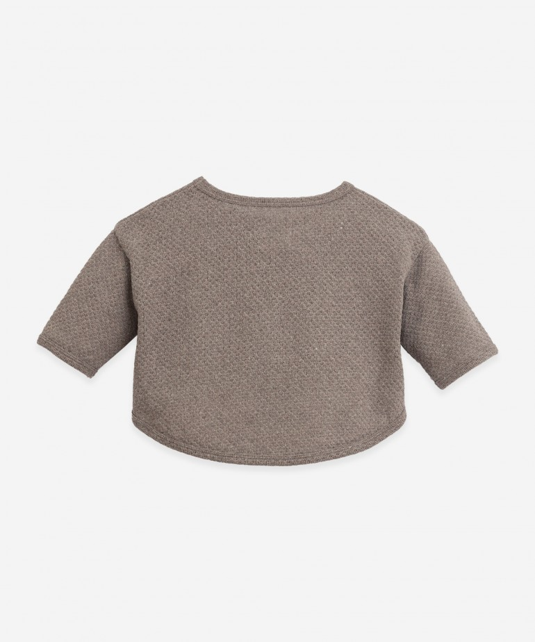 Jersey with recycled fibres
