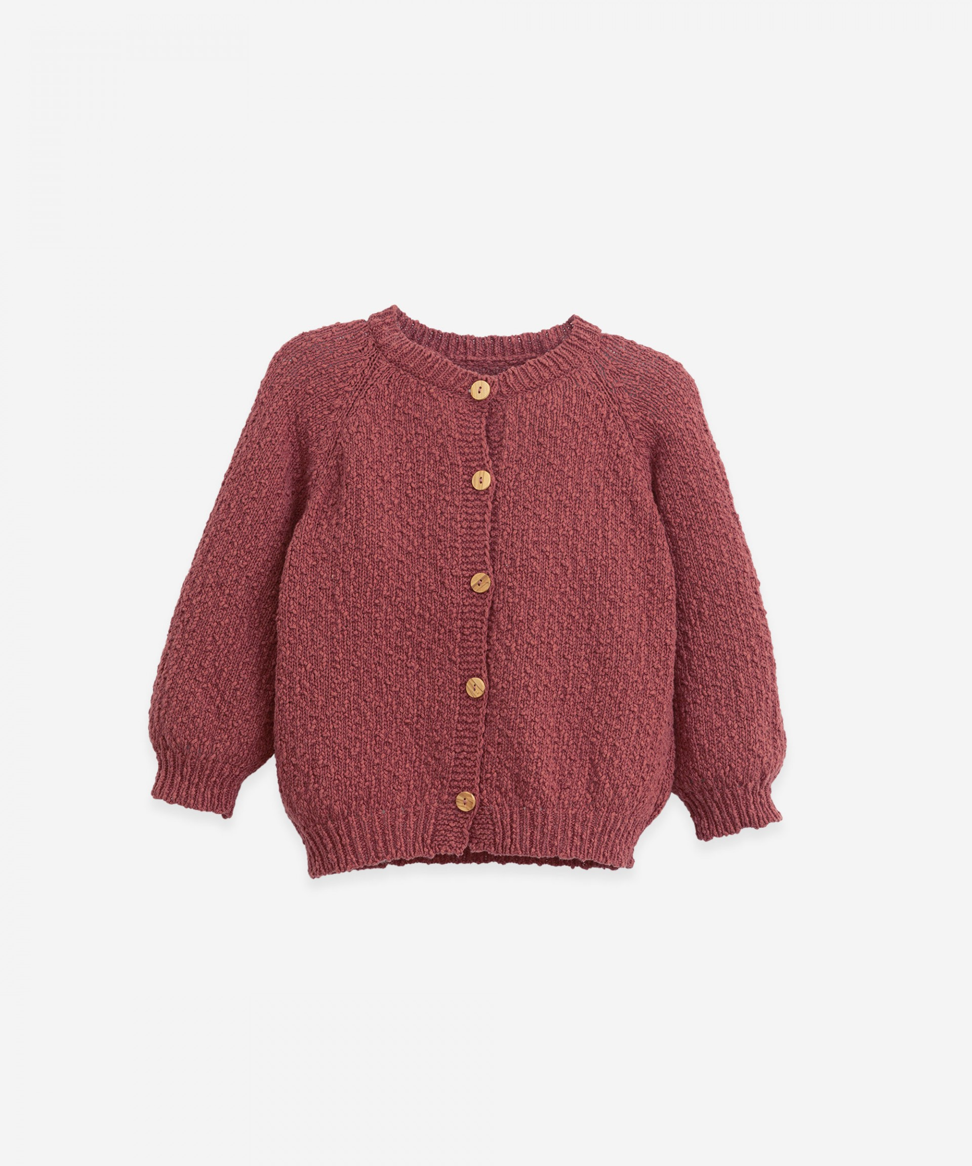 Knitted cardigan | Botany