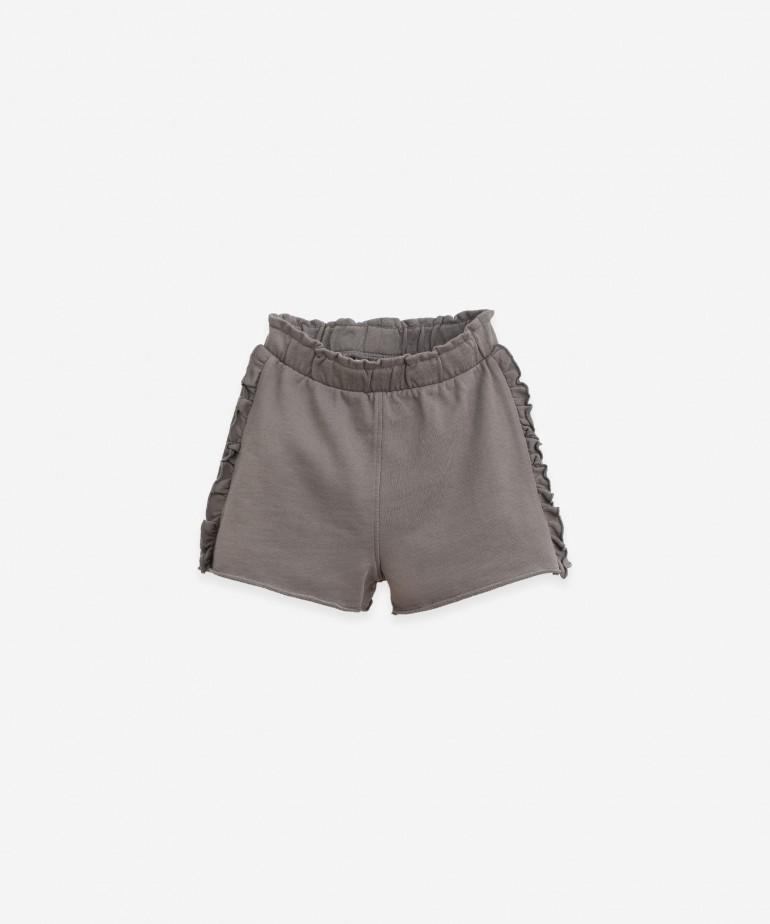Pantaloncini corti in cotone organico