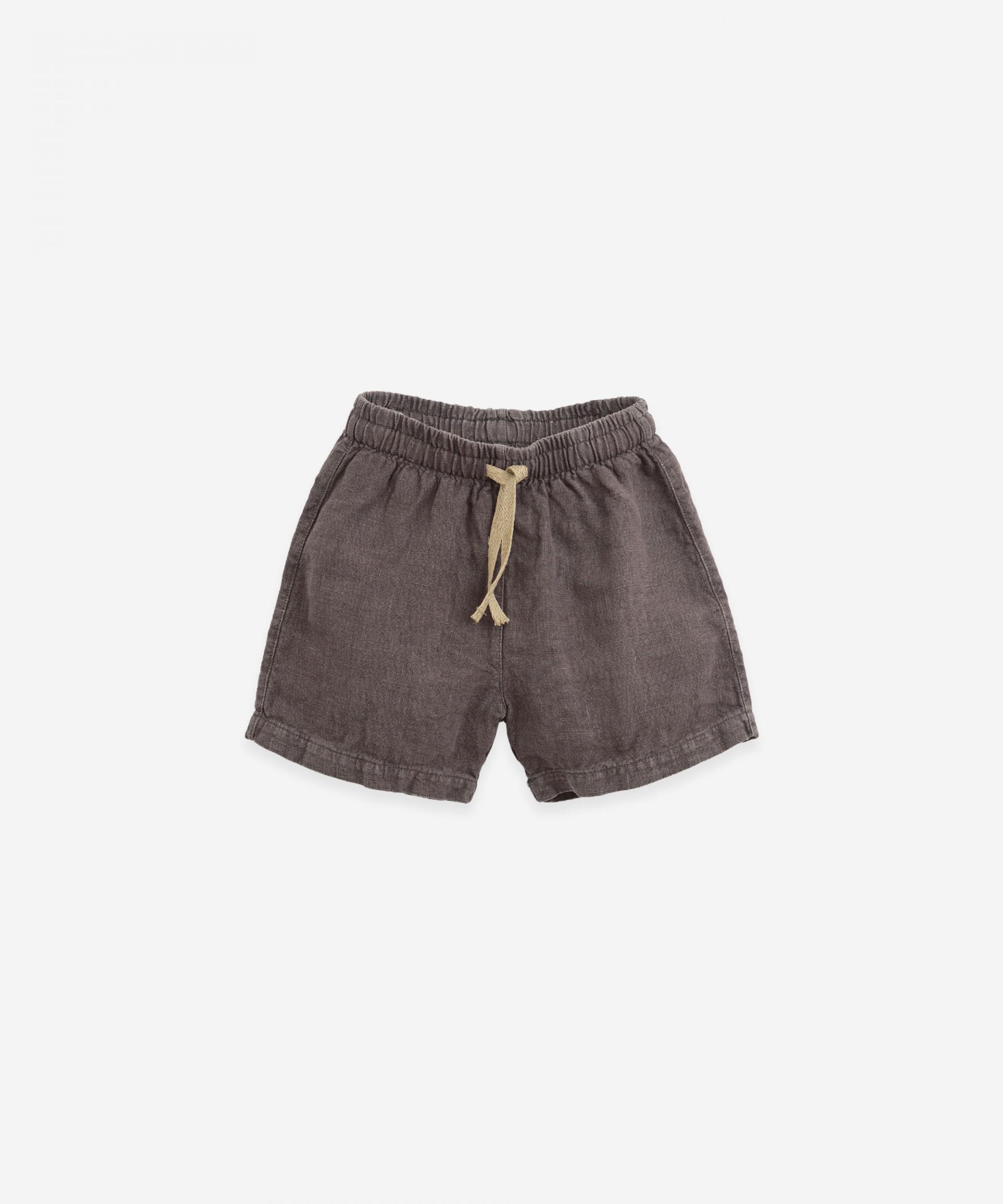Pantalón corto con bolsillo | Botany