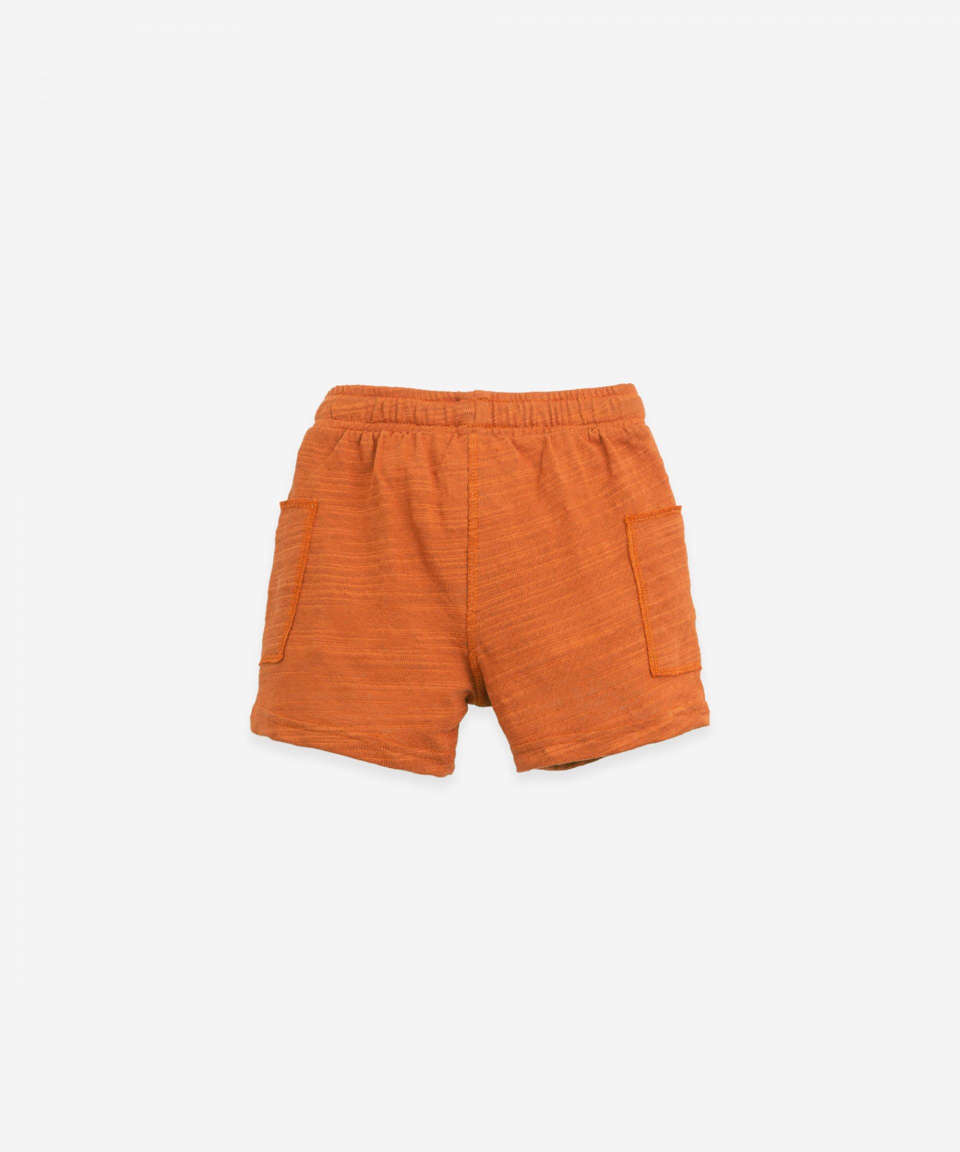 Organic cotton shorts | Botany