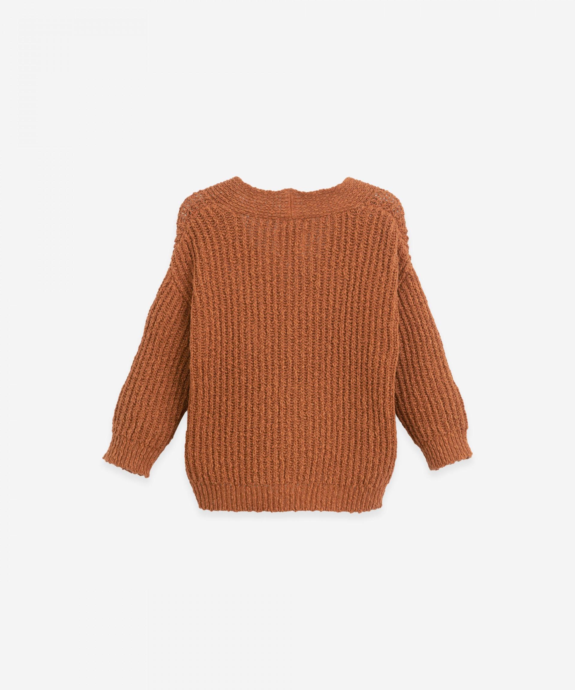 Chaqueta efecto tricot | Botany