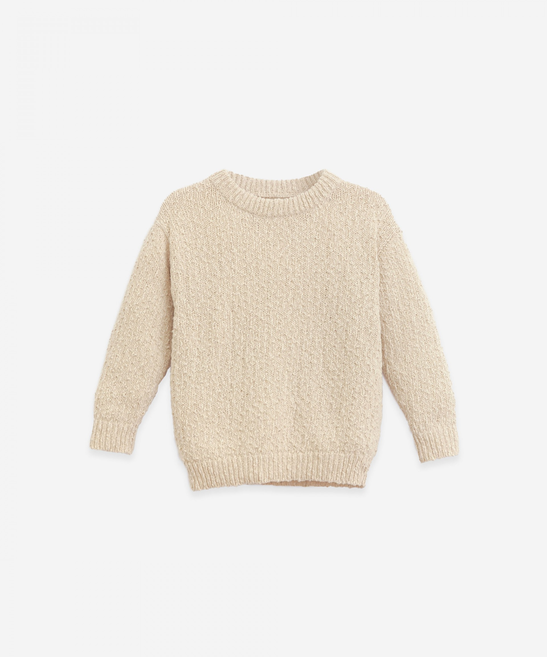 Cotton and linen sweater | Botany