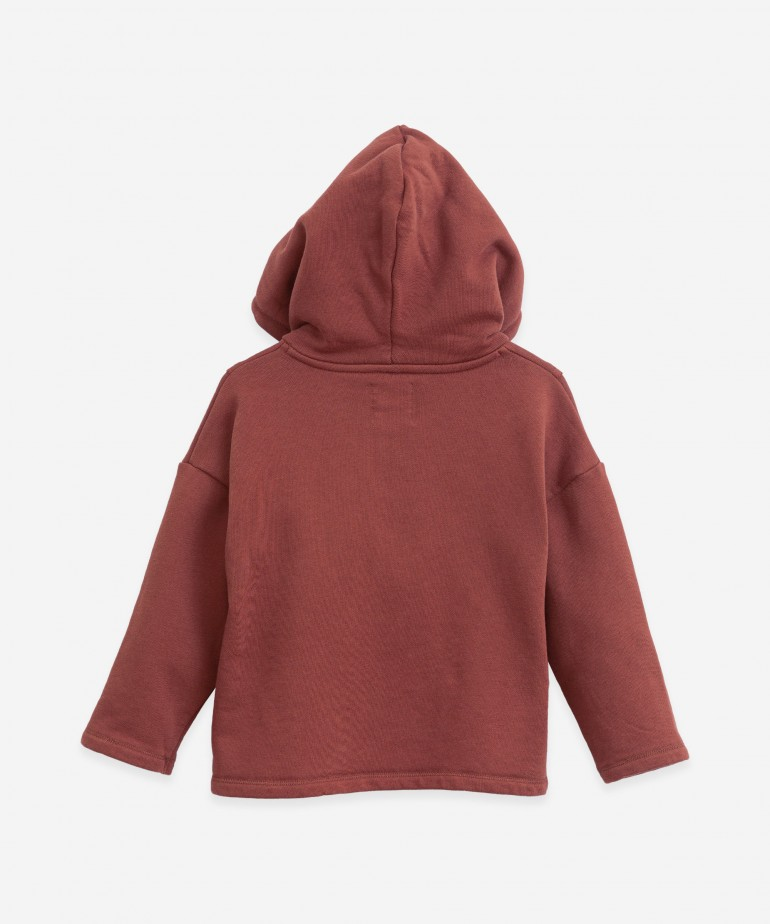Jersey with hood