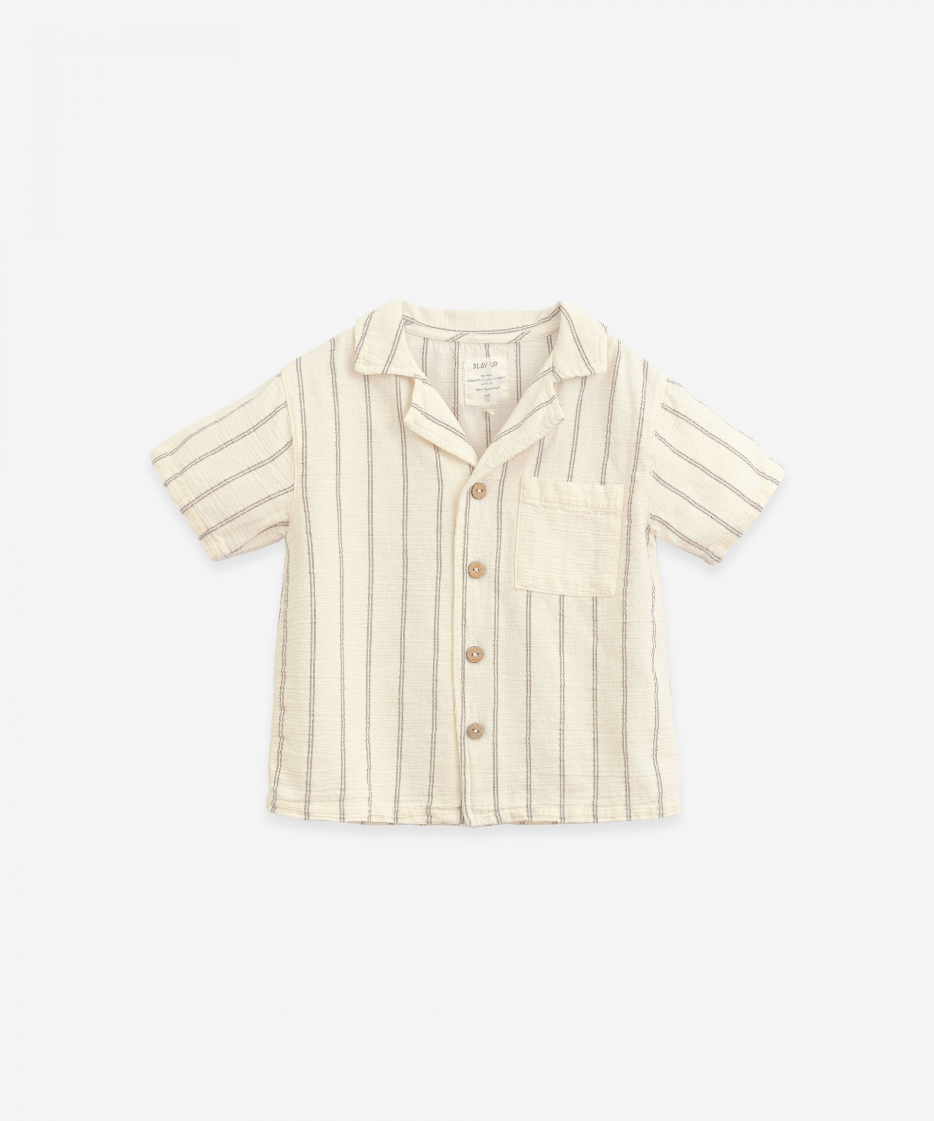 Camisa de rayas con bolsillo | Botany