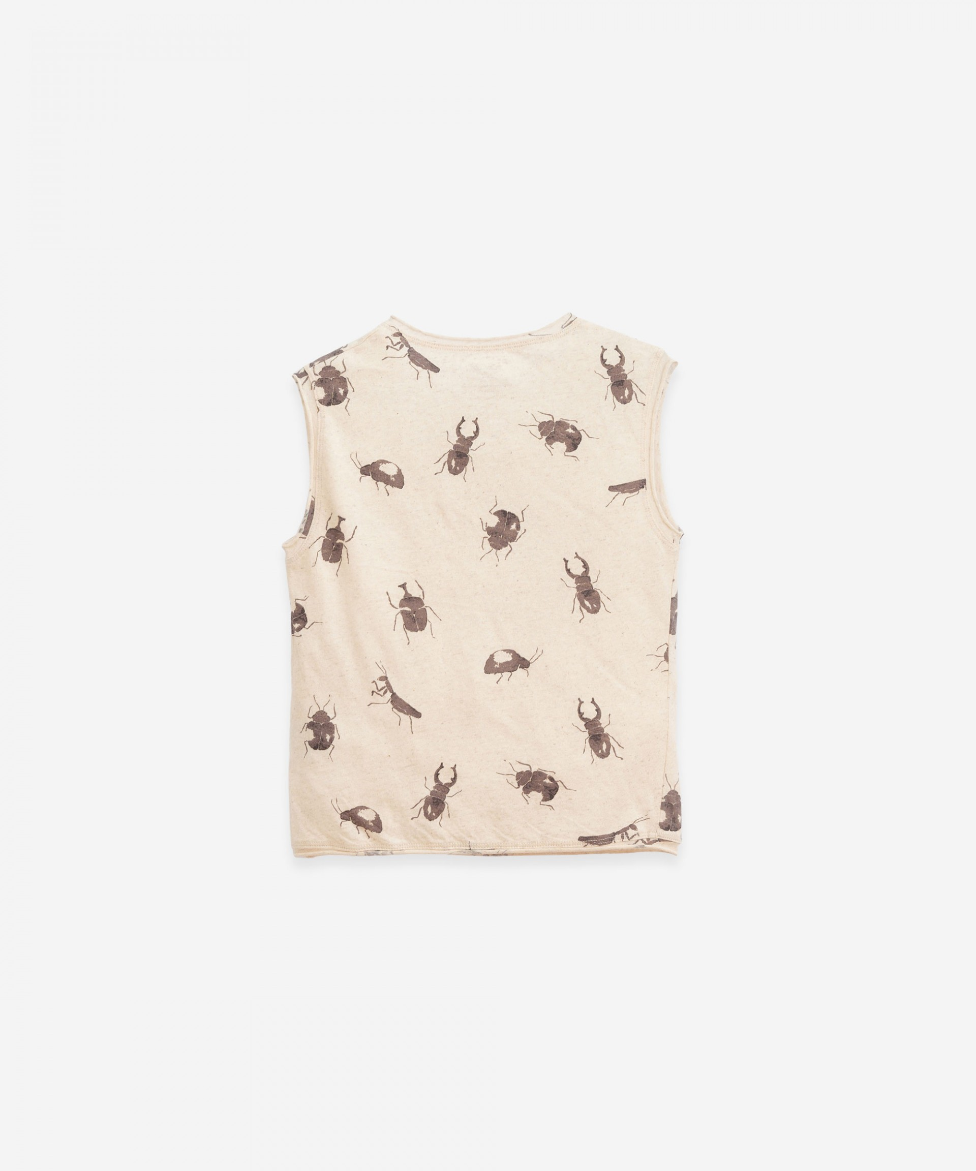 T-Shirt senza maniche con stampa | Botany