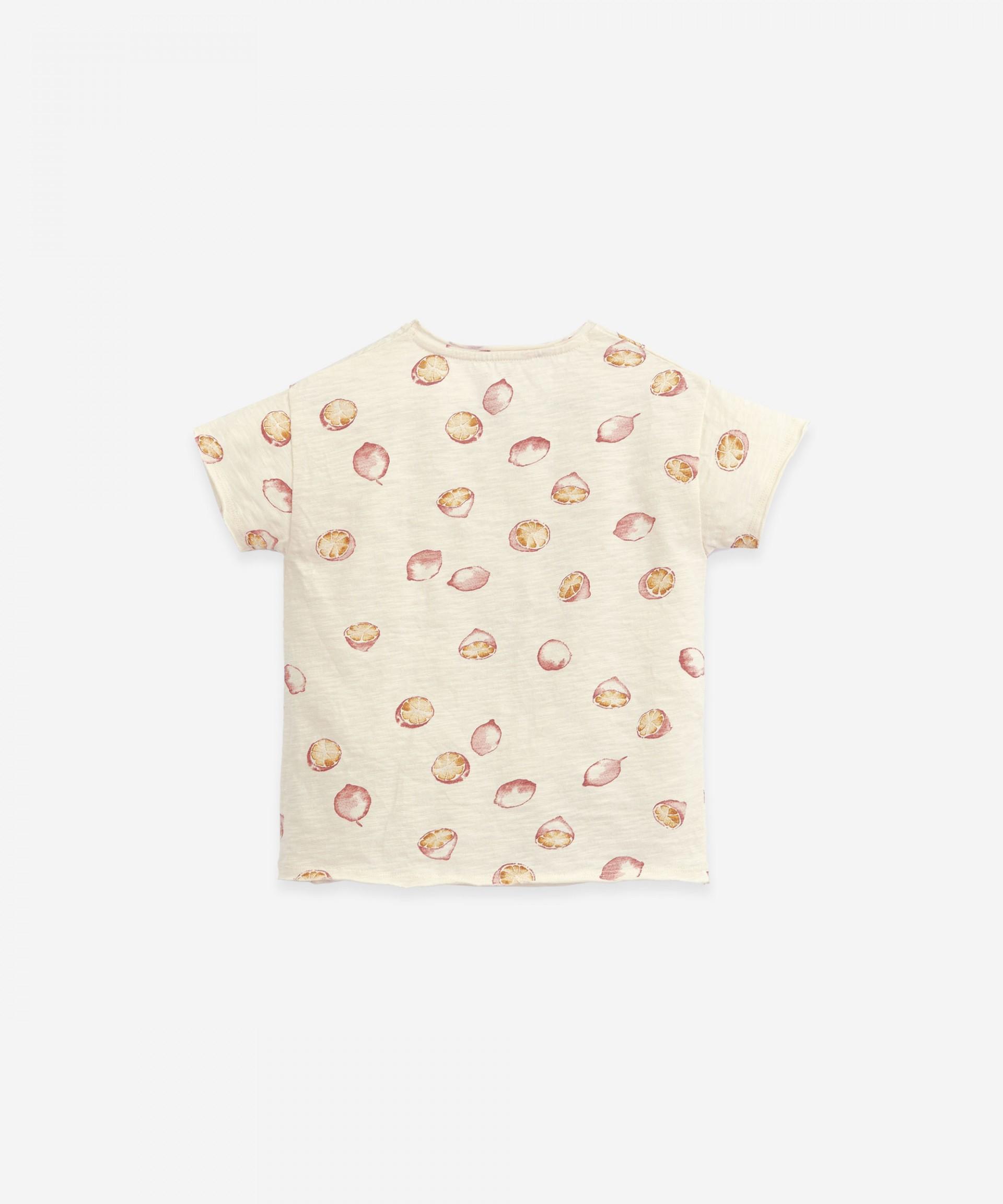 Camiseta de punto con estampado | Botany