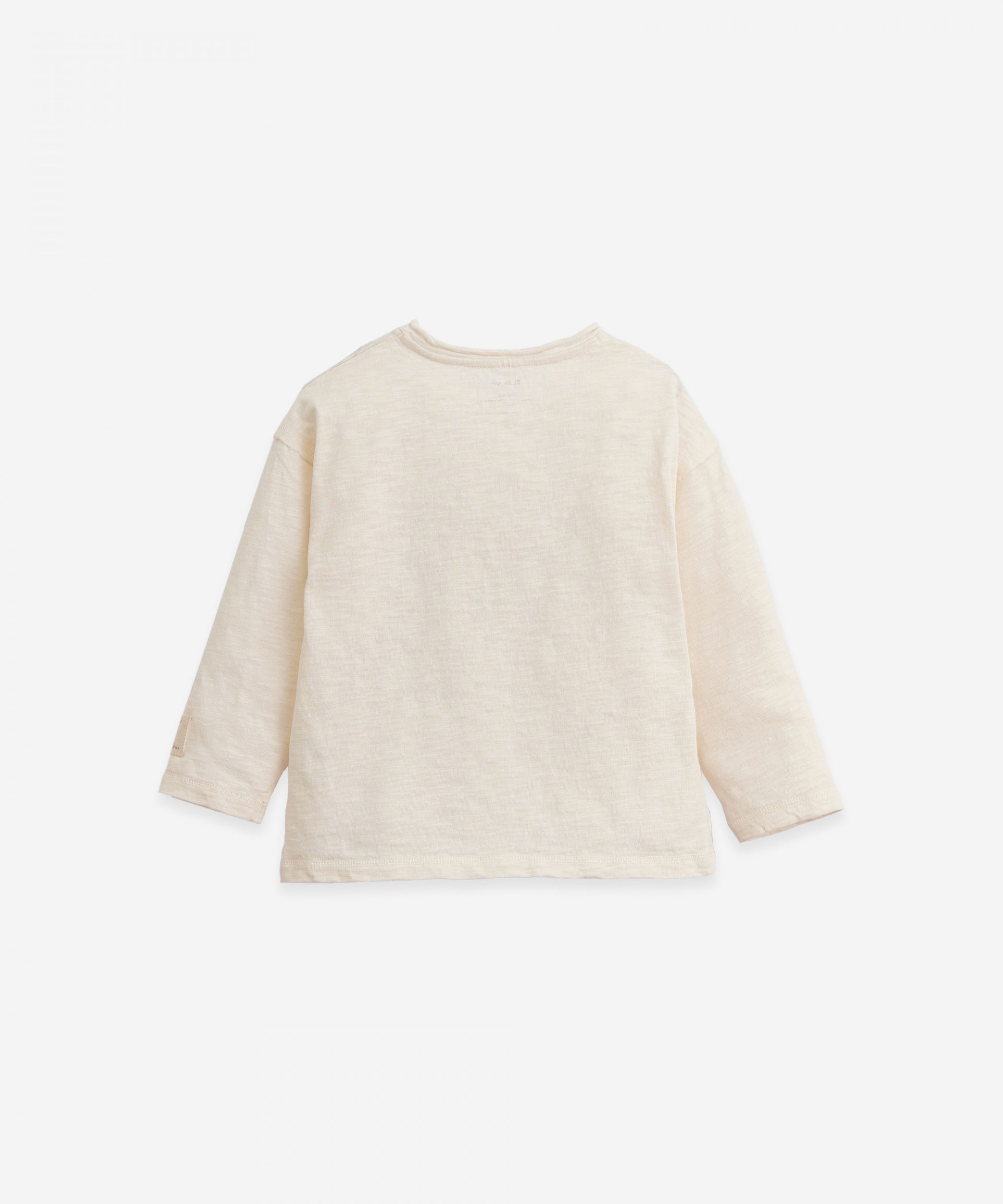 Organic cotton long-sleeve T-shirt | Botany