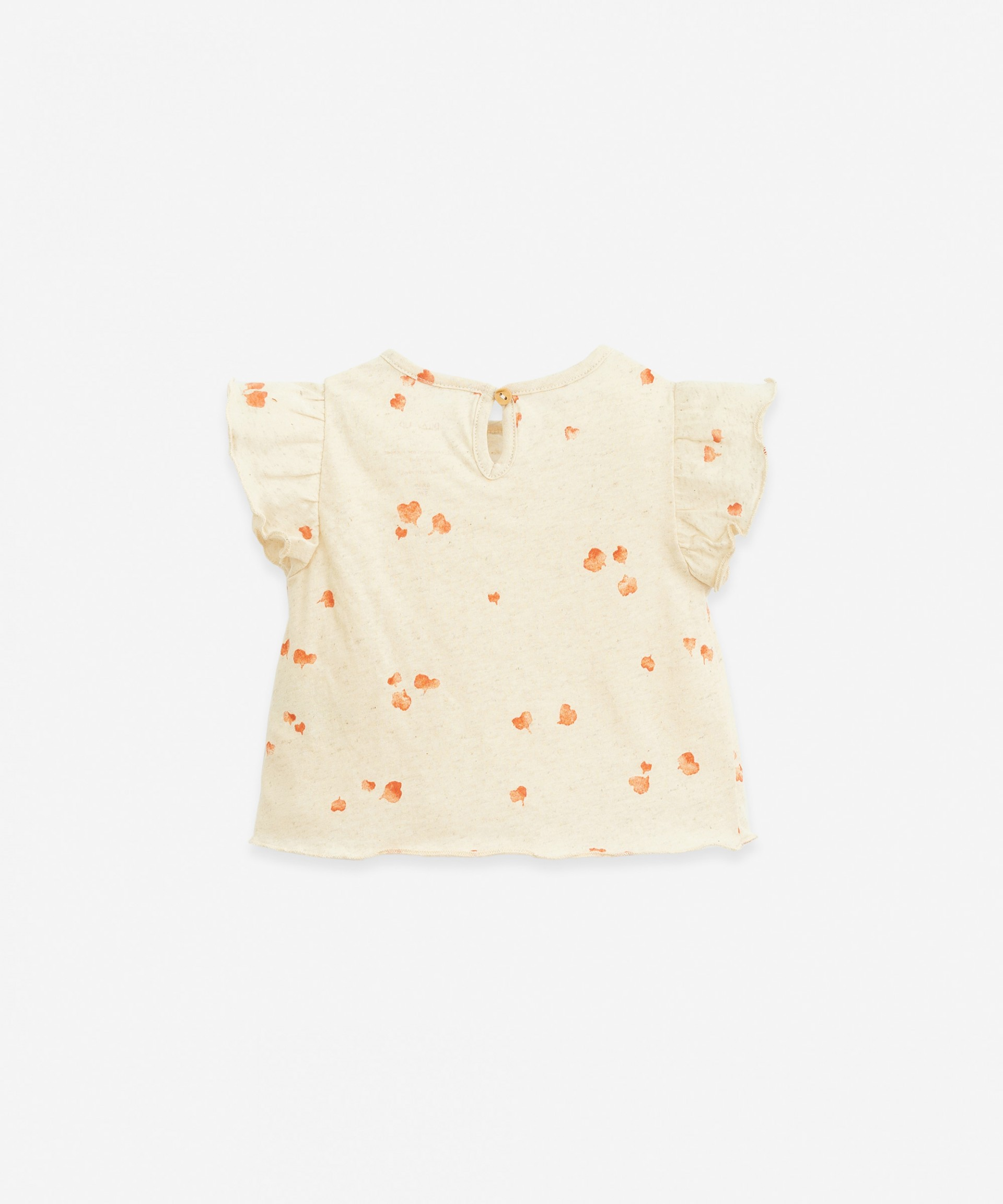 T-shirt with heart print | Botany