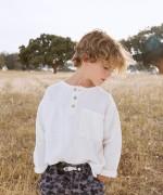 Camisa de linho com bolso | Botany