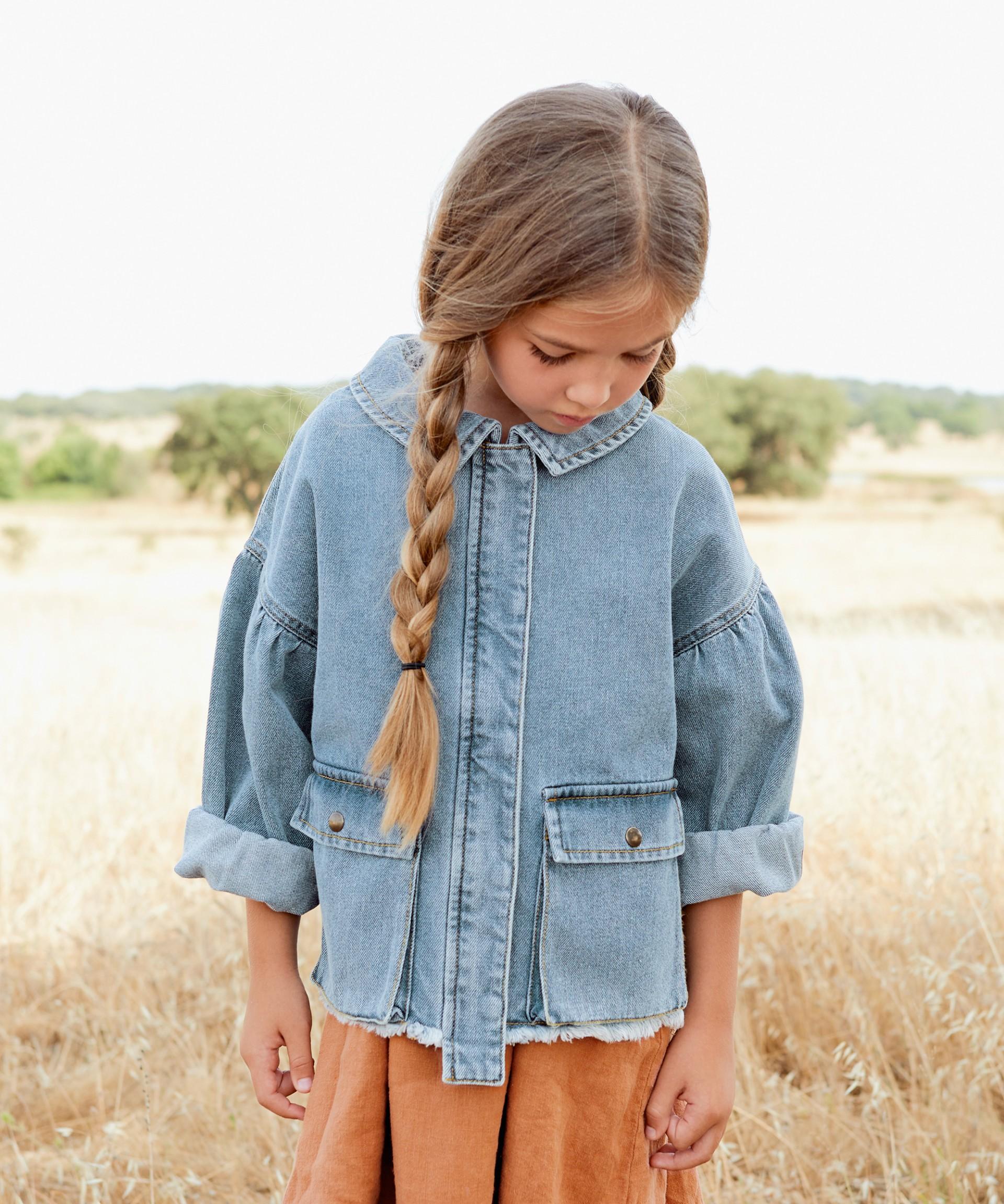 Giacca di jeans con tasche | Botany