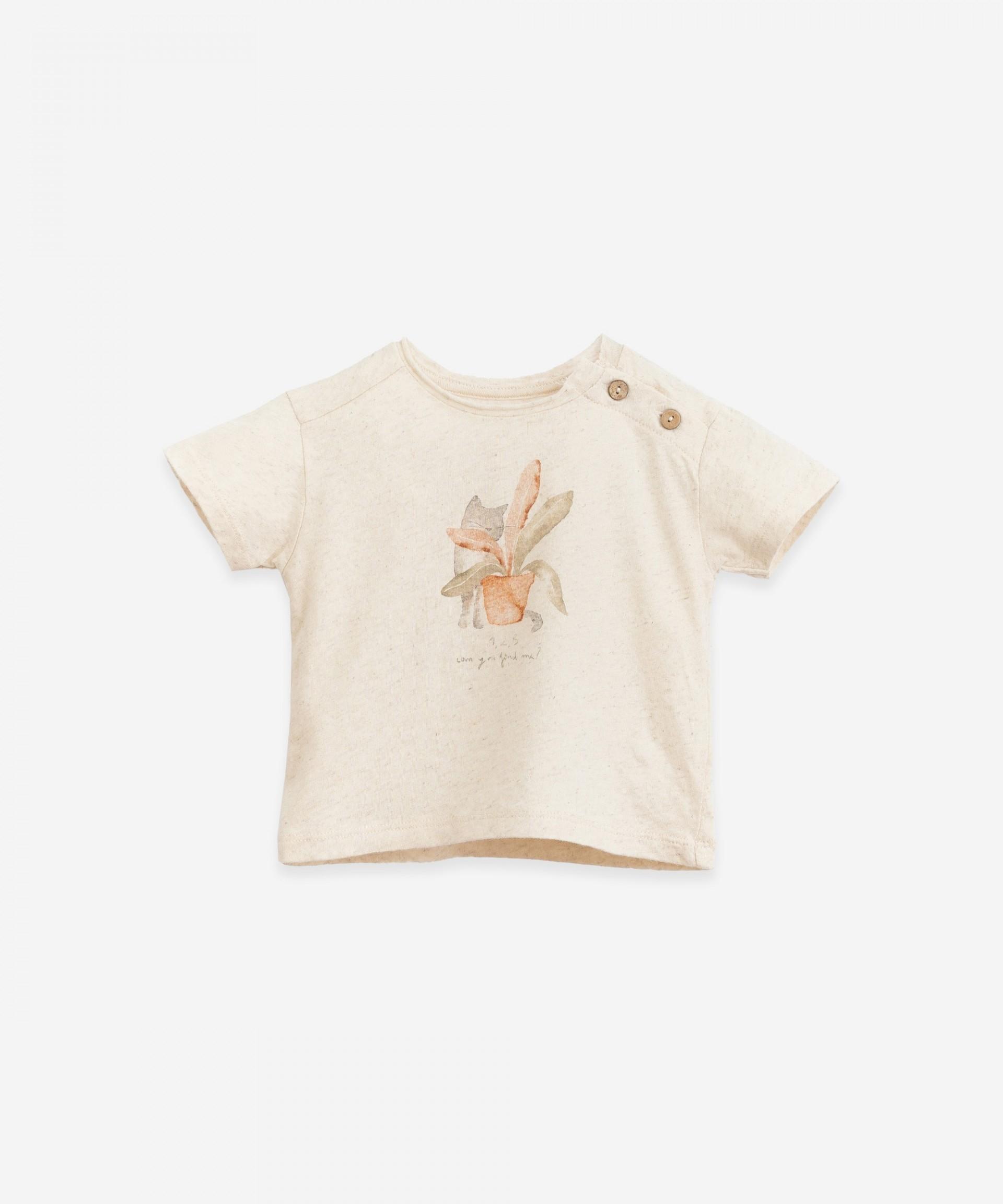 Camiseta con dibujo | Botany