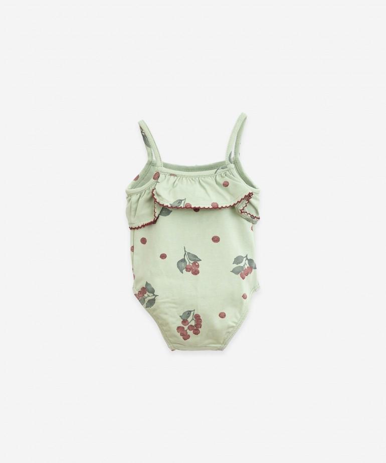 Swimsuit in organic cotton