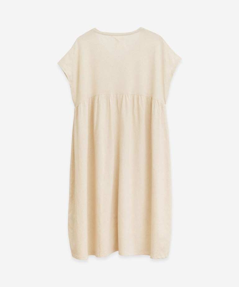 Dress in organic cotton and hemp