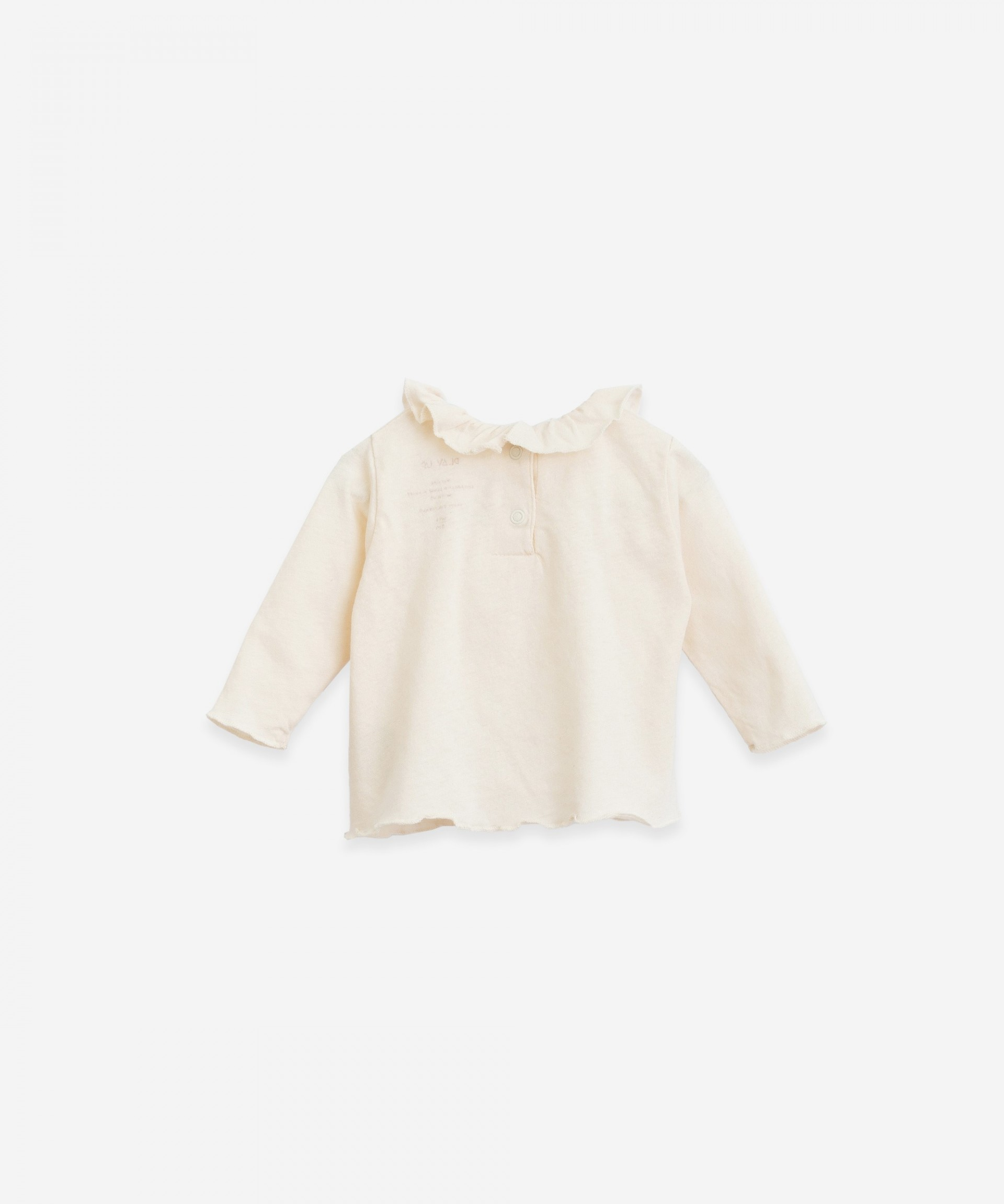 T-shirt with pleats| Botany