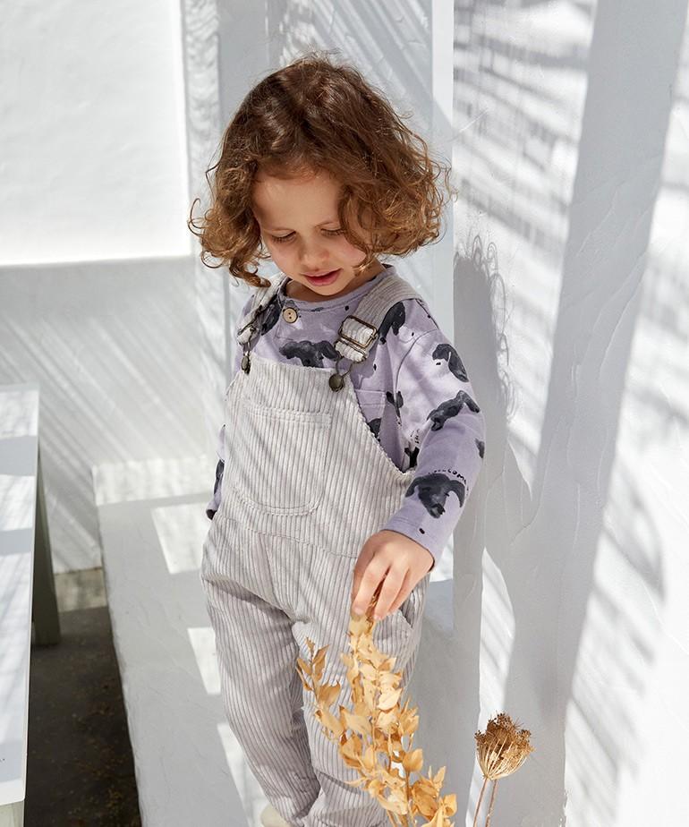 Macacão bombazine em algodão orgânico