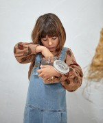 Mono vaquero con bolsillos   Illustration