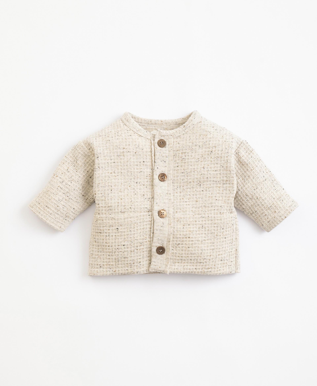 Camicia con fibre riciclate e cotone | Illustration