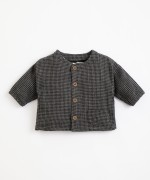 Camicia con motivo Vichy | Illustration
