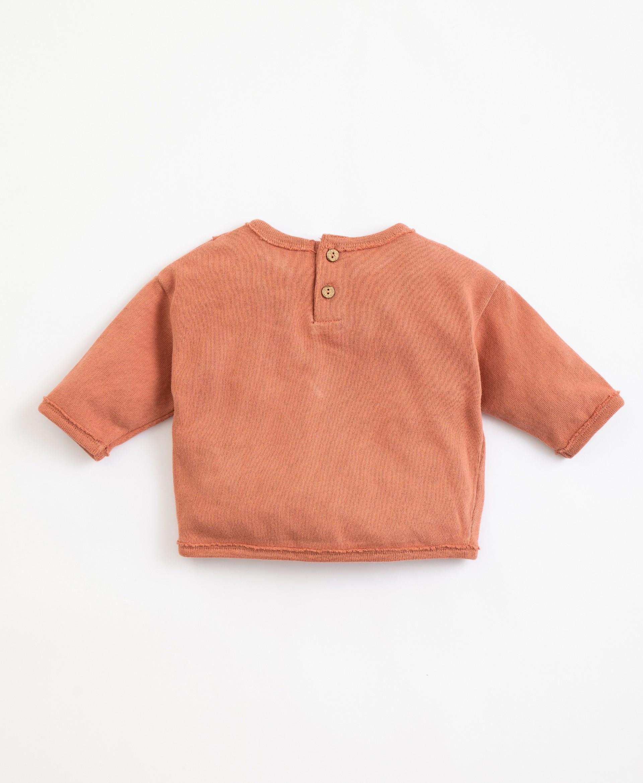 Camisola de malha em algodão orgânico | Illustration