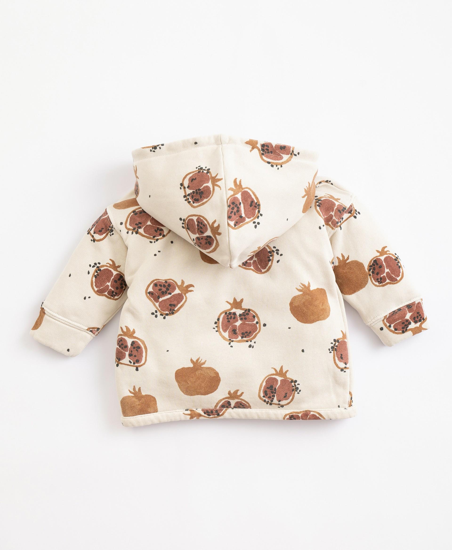 Camisola com capucho em algodão   Illustration