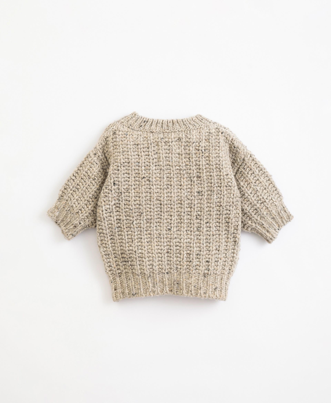 Camisola tricot | Illustration