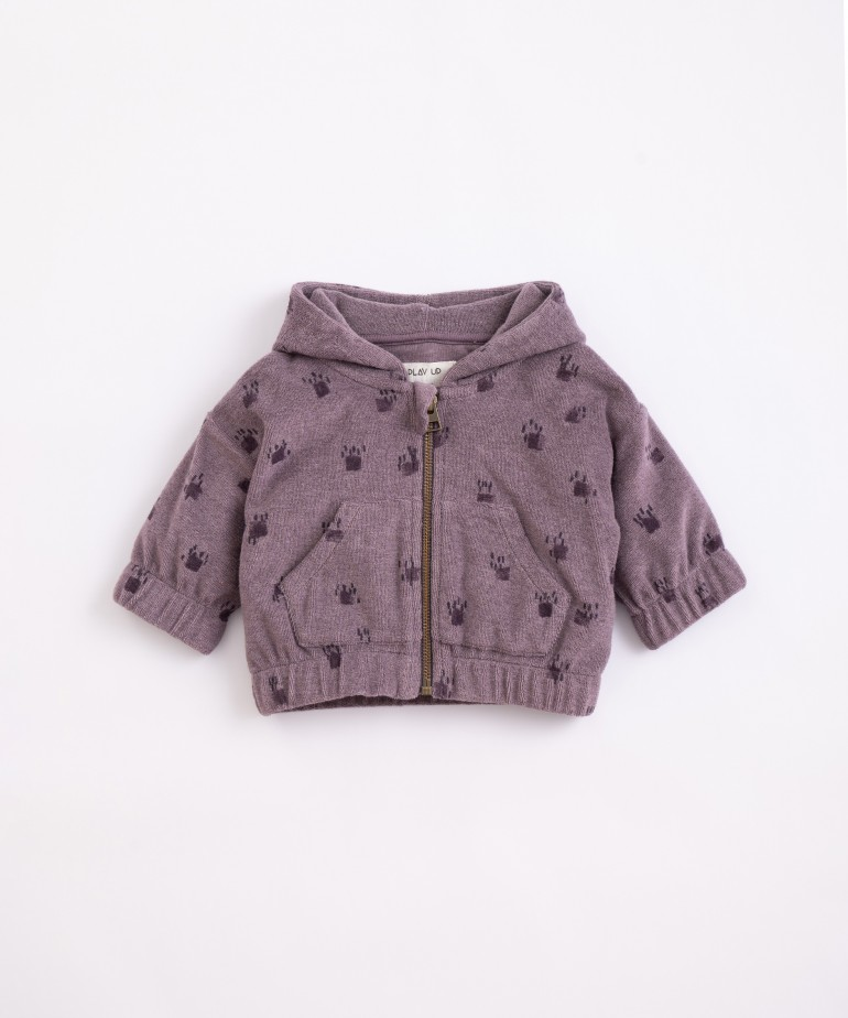 Organic cotton and recycled cotton jacket