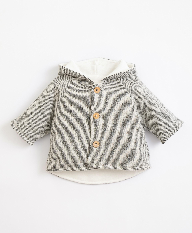 Organic cotton lined jacket| Illustration
